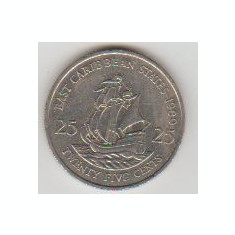 East Caribbean States 1989 - 25 Cents