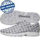 Pantofi sport Adidas Originals ZX Flux pentru barbati - adidasi originali, 40, Gri, Textil