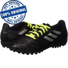 Pantofi sport Adidas Conquisto 2 pentru barbati - adidasi fotbal - originali, 44, Negru