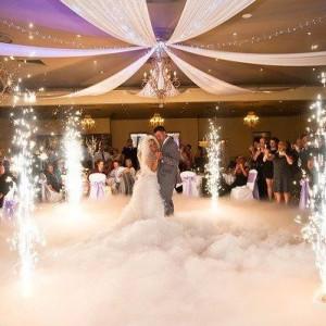 Set 10 vulcani/artificii wireless pentru lansat la nunti,botezuri,evenimente .