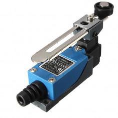Comutator limitator cu maneta reglabila si rola din plastic ME-8108,cod:10100561
