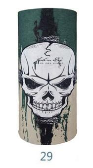 Cagula masca bandana motor Halloween SKI