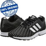Pantofi sport Adidas Originals ZX Flux pentru barbati - adidasi originali, 41 1/3, Negru, Textil