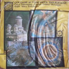 Colinde și concerte religioase - Muzica Religioasa electrecord, VINIL