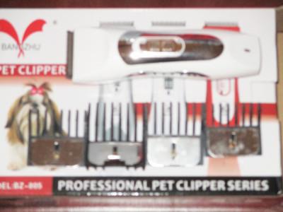 Masina tuns caini pisici animale Pet Hair Clipper functioneaza cu acumulator foto