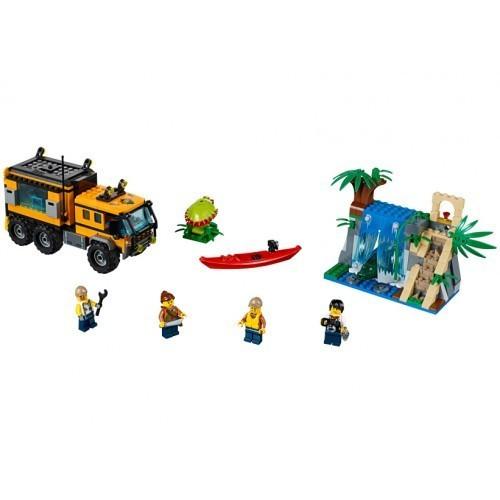 LABORATORUL MOBIL DIN JUNGLA (60160) LEGO City foto mare