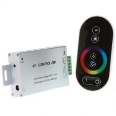 Controler banda LED RGB, maxim 18A+Telecomanda touch controller RF, cod:10105862