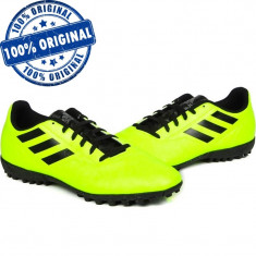 Pantofi sport Adidas Conquisto 2 pentru barbati - adidasi fotbal - originali, 43 1/3, 44 2/3, Verde
