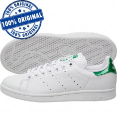 Pantofi sport Adidas Originals Stan Smith pentru femei - adidasi originali piele - Adidasi dama, Culoare: Alb, Marime: 36, Piele naturala