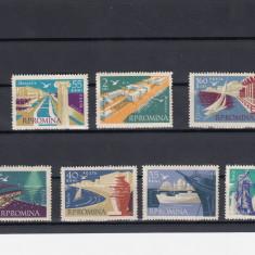 ROMANIA  1960  LP 503 FRUMUSETI  TURISTICE  LA MARE SERIE  MNH