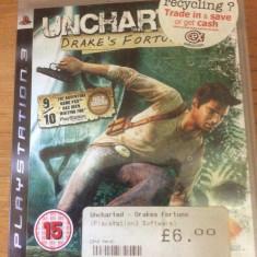 UNCHARTED - DRAKE'S FORTUNE ( PS3 ) JOC VIDEO - Jocuri PS3, Actiune, 12+
