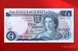 JERSEY  -  1 Pound 1988  -  aUNC