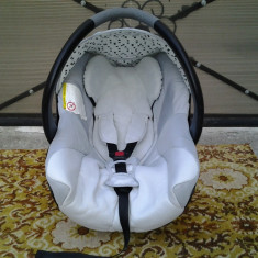 Bebe Confort / Light Blue / scoica / scaun copii auto (0-13 kg) - Scaun auto copii Bebe Confort, 0+ (0-13 kg), Opus directiei de mers