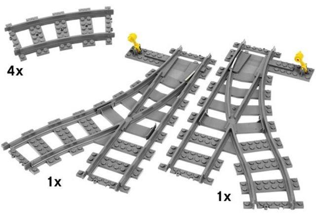 Macaz de cale ferata LEGO City (7895) foto mare