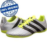 Pantofi sport Adidas Ace 16.4 pentru barbati - adidasi fotbal - originali, 44, 44 2/3, 45 1/3, Argintiu