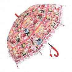 Umbrela copii 8002Y rosie
