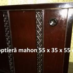 Noptieră mahon (negru) 55 x35 x 55 cm