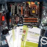 KIT PLACA BAZA ASUS P5W-DH  WI-FI CU TELECOMANDA  (SIGILATA), Pentru INTEL, LGA775, DDR2