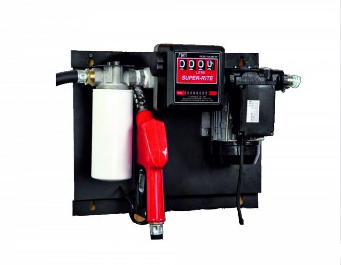 Pompa transfer motorina cu filtru captator apa