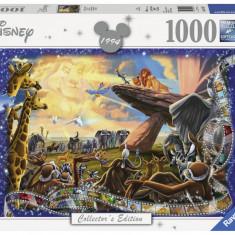 Puzzle Ravensburger Regele Leu - 1000 piese
