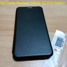 Husa tip carte Huawei Mate 10 Pro negru