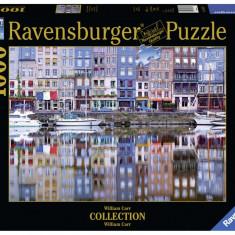 Puzzle Ravensburger Honfleur - 1000 piese
