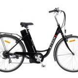 Bicicleta electrica BARCELONA, cu cadru de otel ZT-11 NEGRU