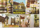 bnk cp Reghin - Muzeul etnografic - circulata