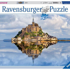 Puzzle Ravensburger Muntii Saint Michel - 1000 piese