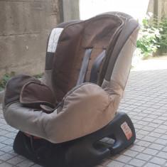 Scaun auto copil, 0+ -1 (0-18 kg), In sensul directiei de mers, Isofix
