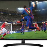 Monitor IPS LED LG 31.5inch 32MP58HQ-P, Full HD (1920 x 1080), HDMI, VGA, 5 ms (Negru), Mai mare de 27 inch