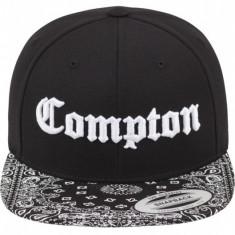 Sapca Compton Bandana negru-alb