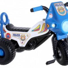 Tricicleta cu pedale Police - Tricicleta copii, Multicolor