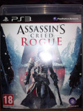 Assassin's Creed Rogue, PS3, original! Alte sute de jocuri!, Actiune, 18+, Multiplayer, Sega