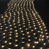 Plasa de lumini pentru exterior, 6x4 m, 400 LED-uri, alb, Home