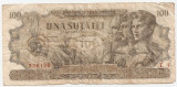 ROMANIA 100 LEI 27 AUGUST 1947 U