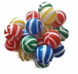 Set 100 bile Colour Stripes, Multicolor, Plastic