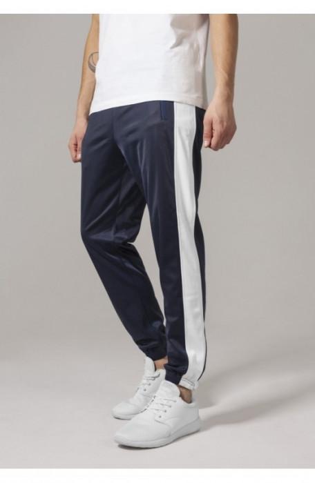 Track Pants bleumarin-alb 2XL