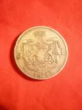 Moneda 5 lei 1883, Carol I  , argint , cal.Buna