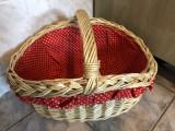Cos de nuiele,german,pentru cumparaturi sau picnic