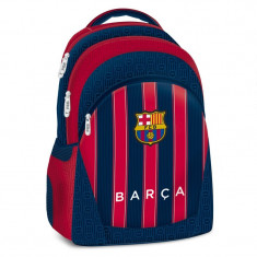 Ghiozdan Ergonomic Scoala FC Barcelona cu 3 compartimente 45 cm