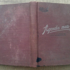 Agenda mea// carnet de insemnari pentru pionieri si scolari pe anul 1951-52 - Carte personalizata