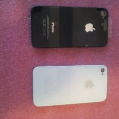Capac spate telefon iPhone 4S ALB si NEGRU A1332 si A1387