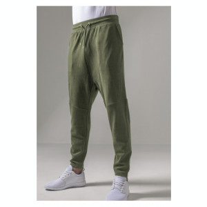 Tapered Interlock Sweatpants oliv 2XL