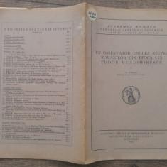 Un observator englez asupra romanilor din epoca lui Tudor Vladimirescu -N. Iorga - Carte Istorie