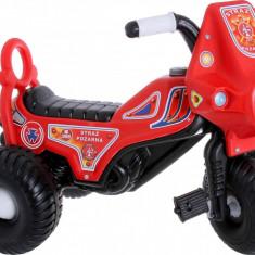 Tricicleta cu pedale Fireman - Tricicleta copii, Multicolor