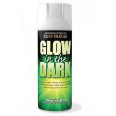 Spray glow in the dark luminescent