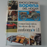 Enciclopedie auto, editura Sopena, an 1982, text in spaniola