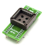 PLCC44 to DIP40 EZ Programmer adapter socket