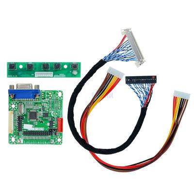 "controler dirver mt6820-b universal pentru display lvds lcd ecran 5v 10""-42"" foto"